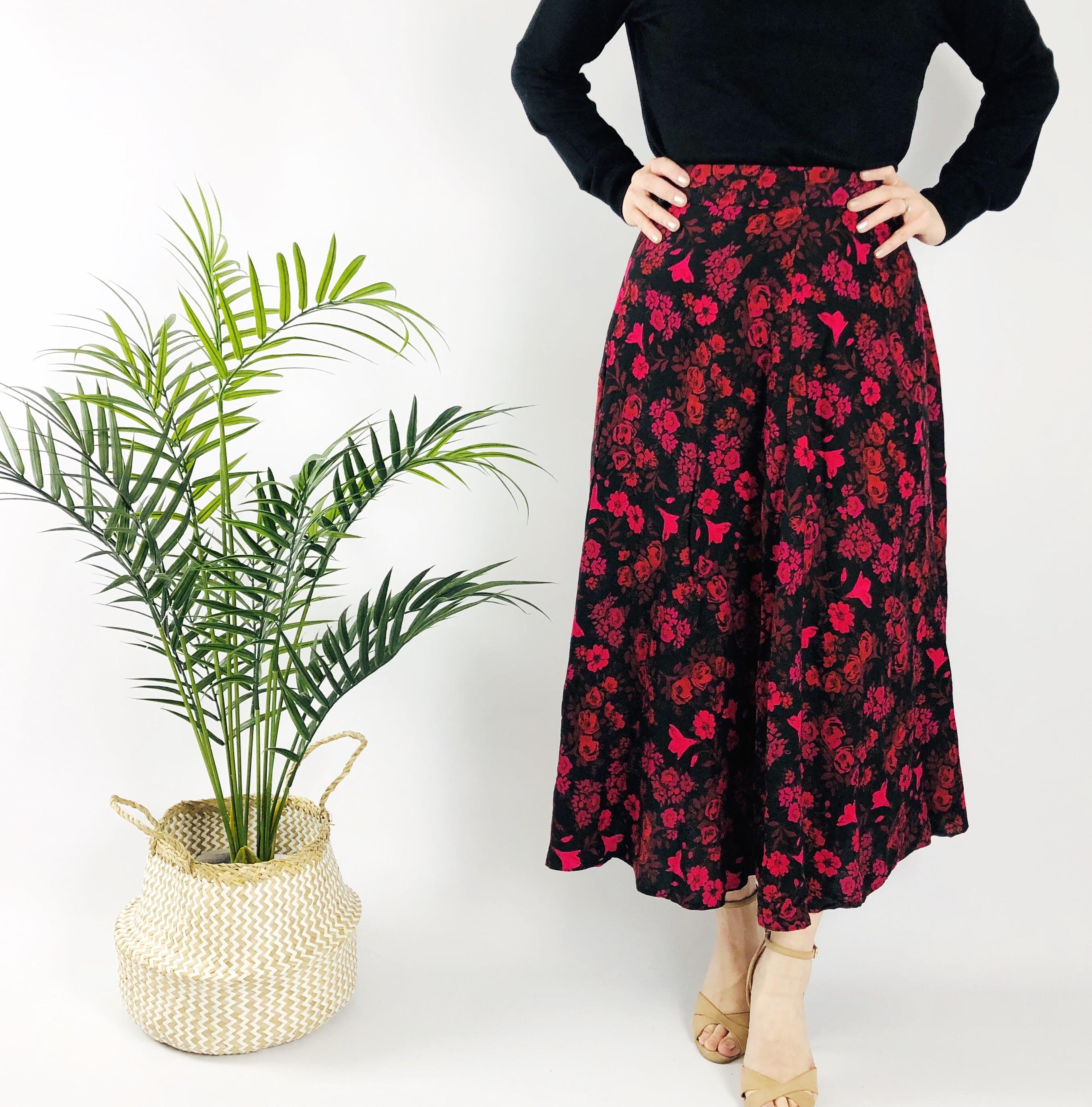 Maxmila Floral Skirt