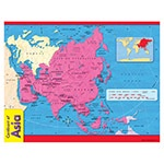 X T 38140 CONTINENT OF ASIA CHART