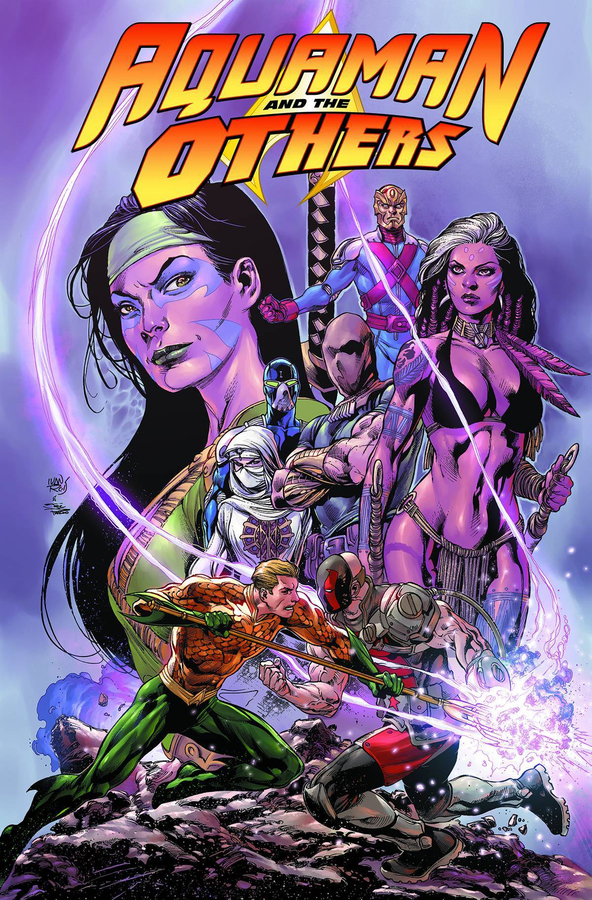 Aquaman and The Others Vol 02 Alignment Earth (N52)