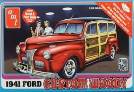 AMT #906 1/25 1941 Ford Custom Woody