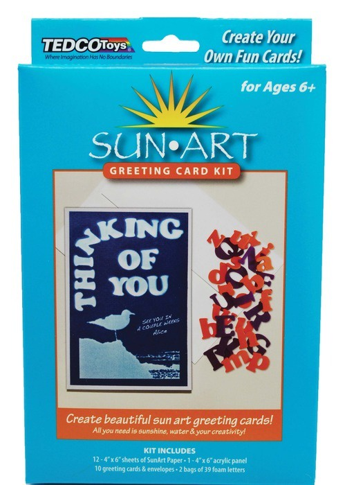 X TED 88053 SUN ART GREETING CARD KIT