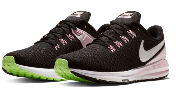 finest selection a1a77 ca1bd W Nike Air Zoom Structure 22 Black/Pink