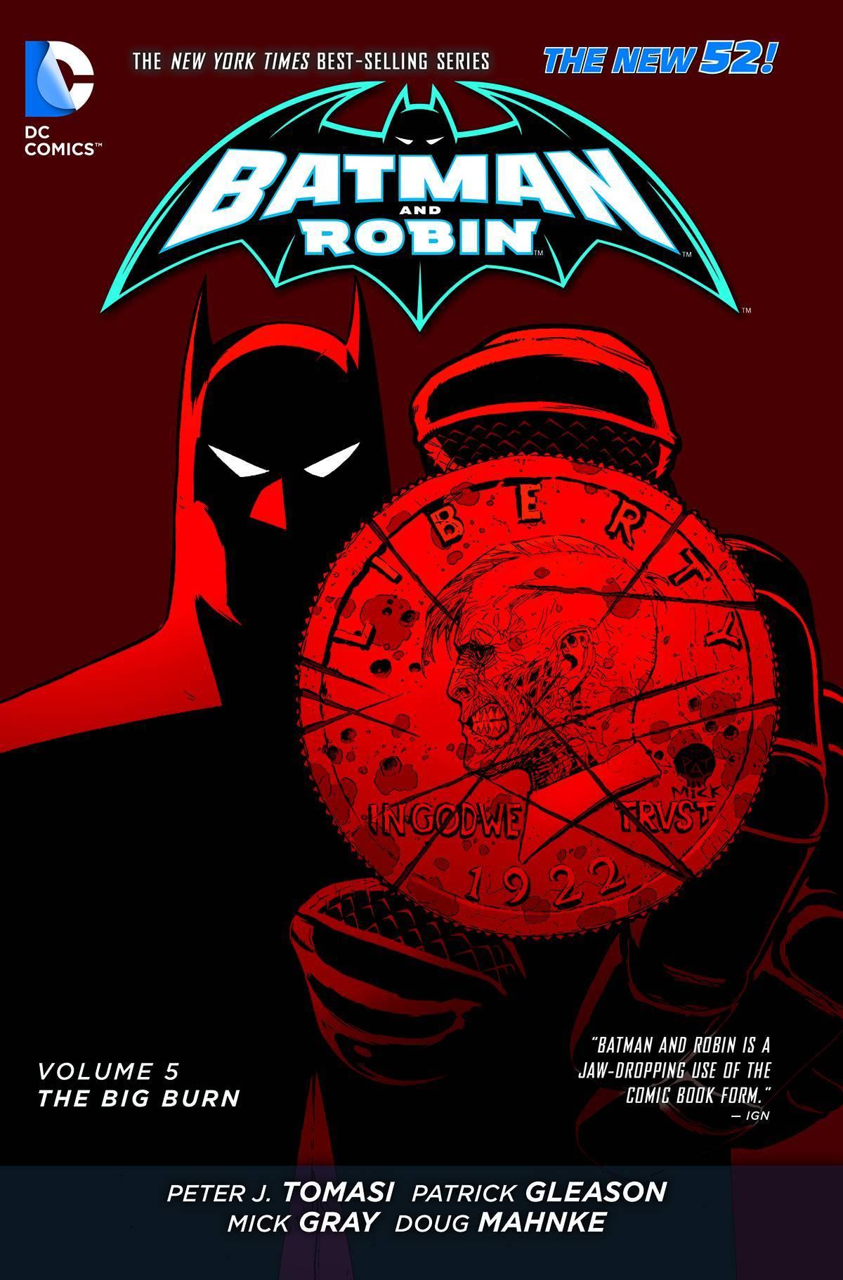 Batman & Robin Vol 05 The Big Burn (N52)