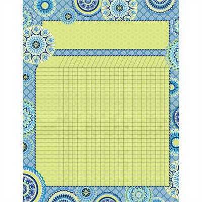 EU 837257 BLUE HARMONY GRID CHART