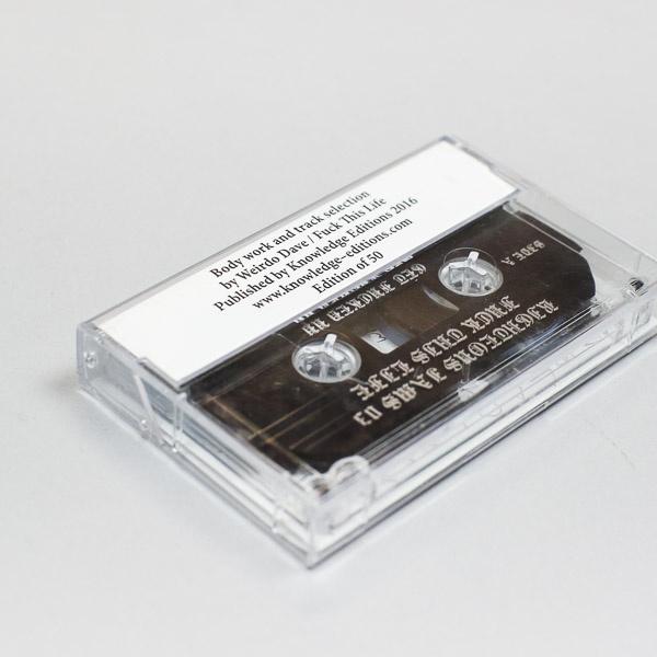 Righteous Jams Vol. 03 FTL / Weirdo Dave Cassette