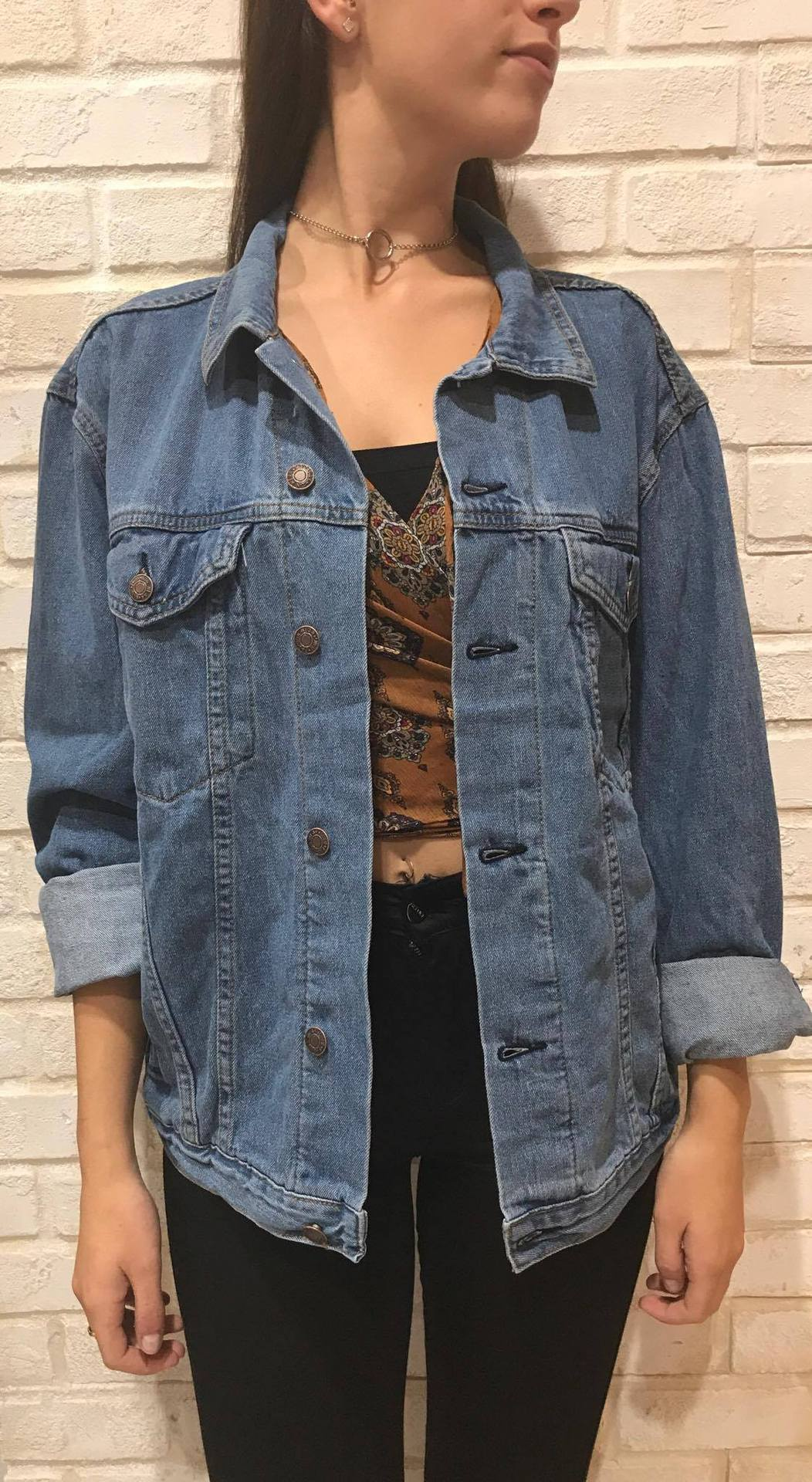 BOYFRIEND DENIM JACKET / 14586 Image