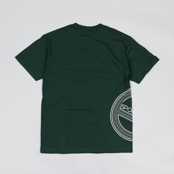 Sports Class Side Circle Logo Tshirt Forest Green