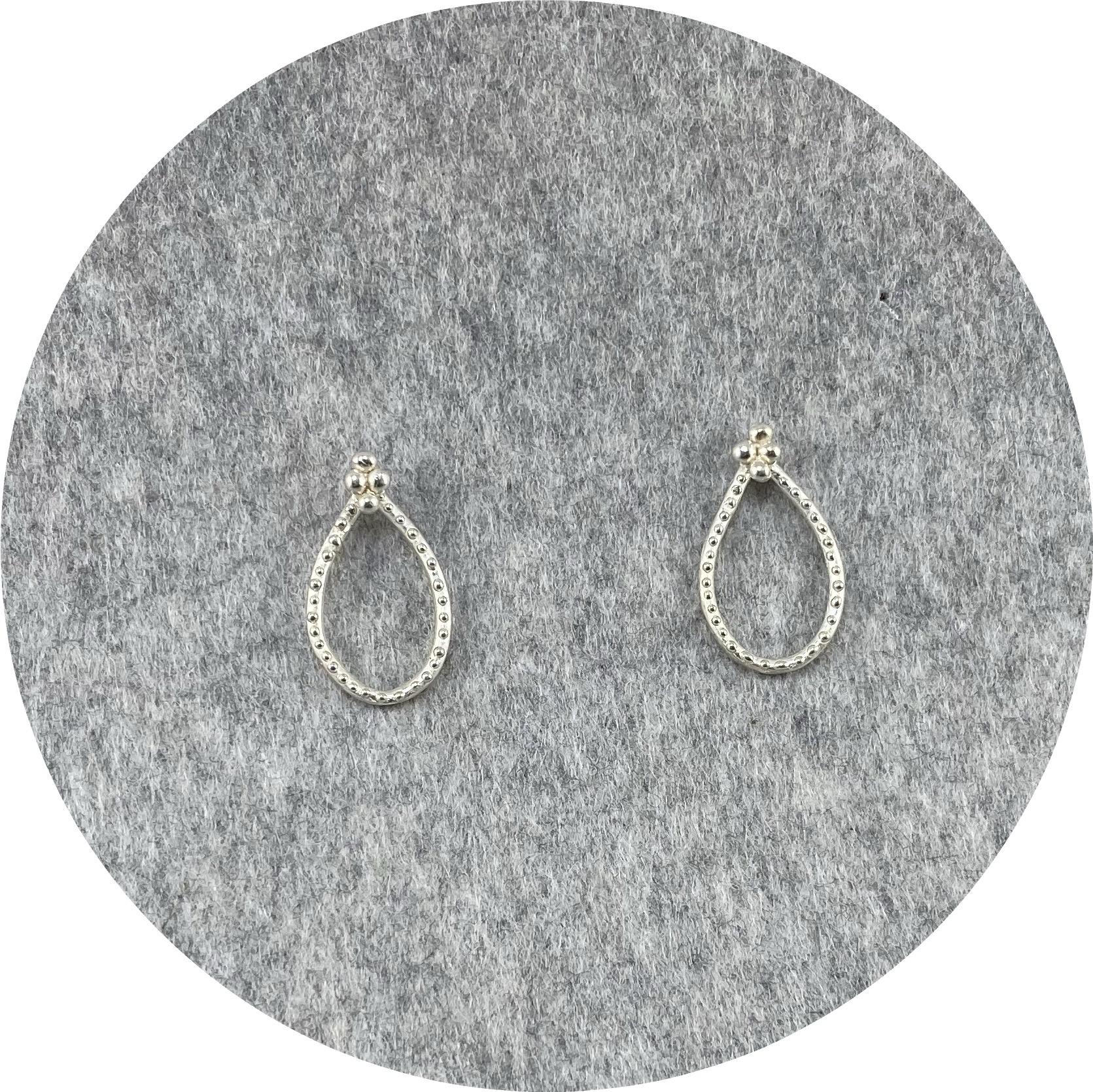 Katie Shanahan - Sterling Silver Sun Stud Earrings