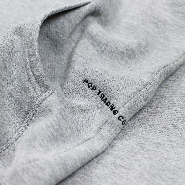 Pop Trading Company Logo Hooded Sweat