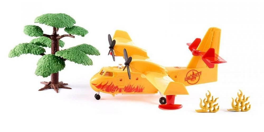 Siku #1793 1/50 Fire Fighting Plane with Accessories