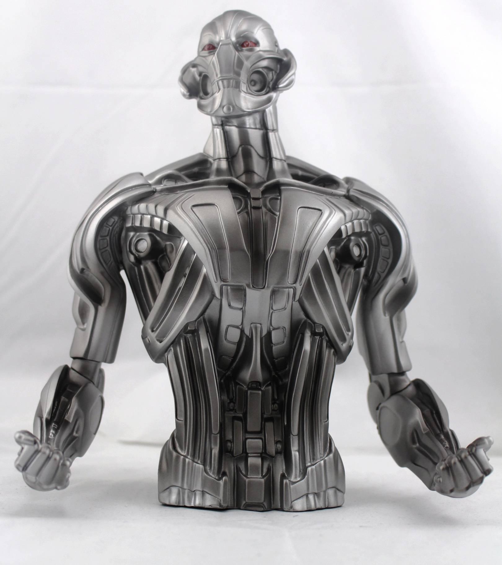 Avengers 2 Ultron Bust Bank