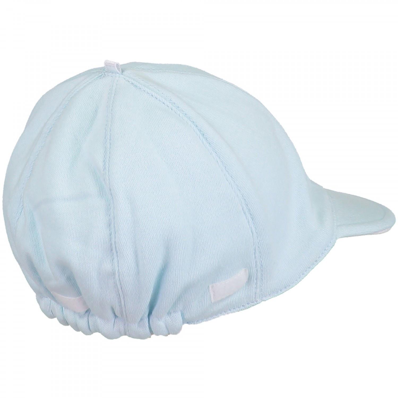 Emile Et Rose. Aspen Pale Blue Cotton Suncap with detachable flap. £9.99. 1 0e806882dc4c