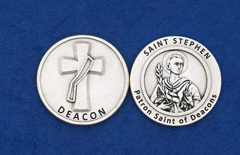 Coin - Deacon / St  Stephen