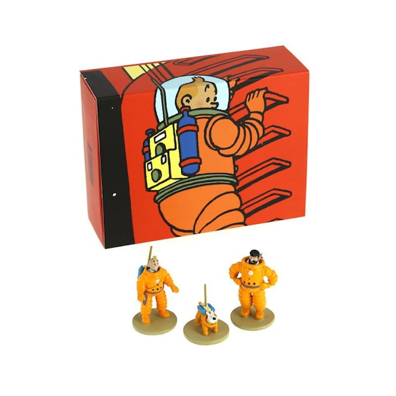 Tintin Mini Moon Figures Moon