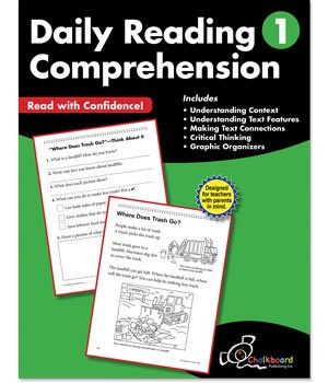 CTP 8181 DAILY READING COMPREHENSION GR. 1