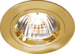 FIXED BRASS TWIST-LOCK DOWNLIGHT GU10/MR16