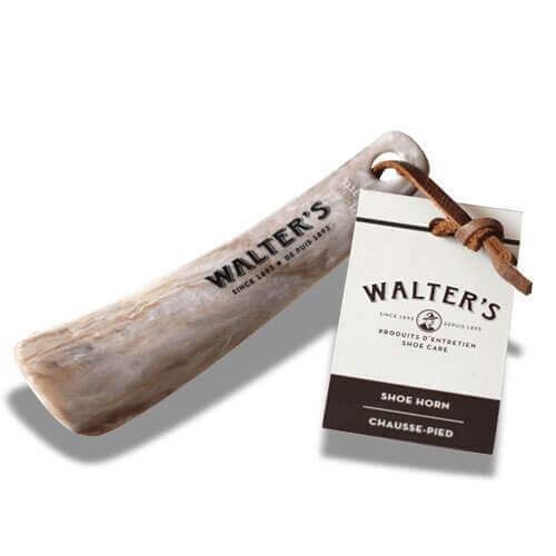 WALTER'S SHOE CARE - SHOE HORN SMALL