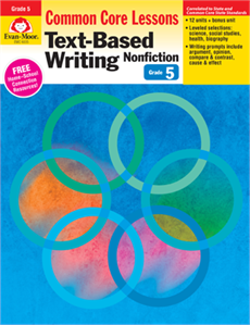 X EMC 6035 CC MASTERY TEXT-BASED WRITING NF GR. 5