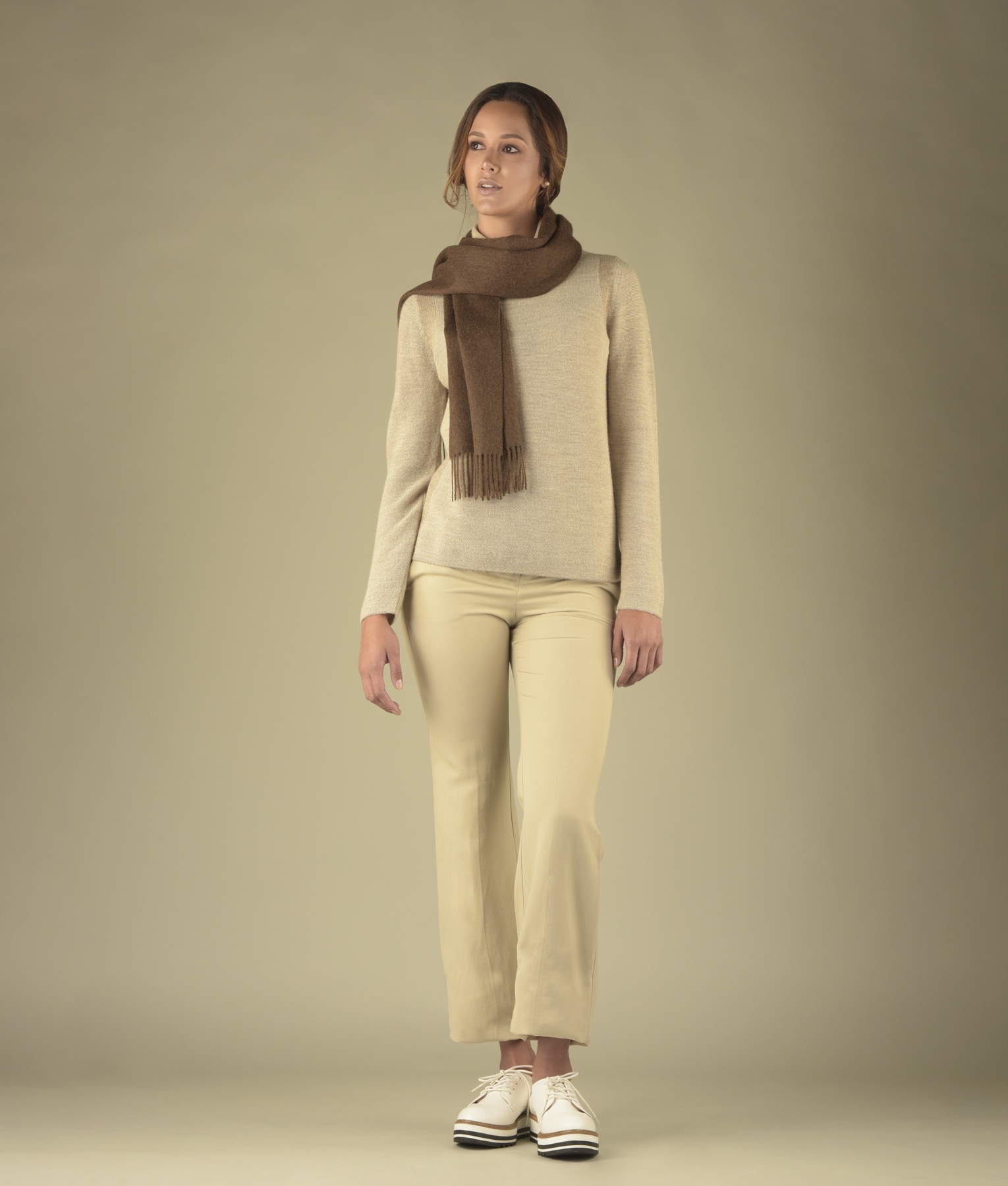 BRUSHED SCARF 213