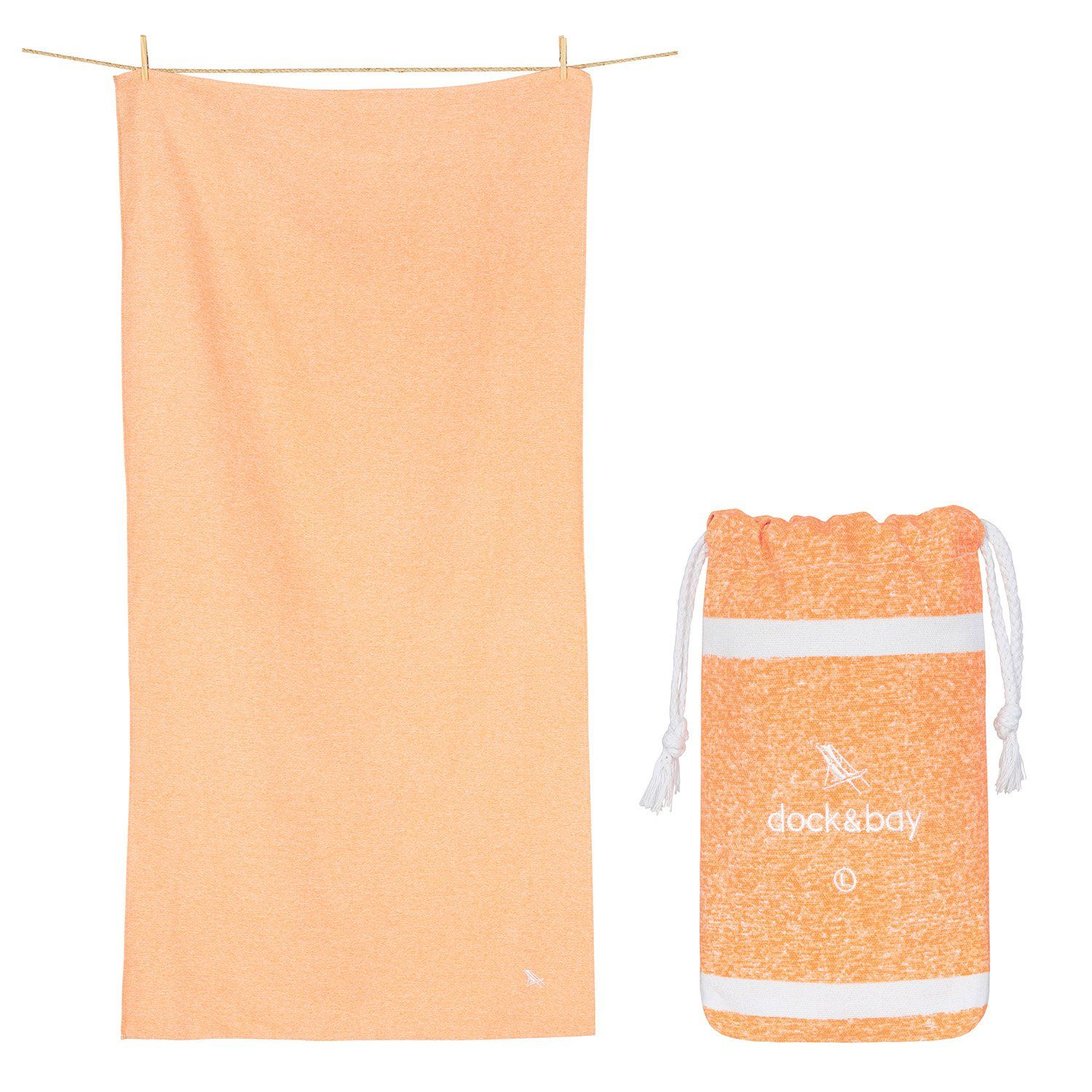 Yoga Towel from Dock & Bay