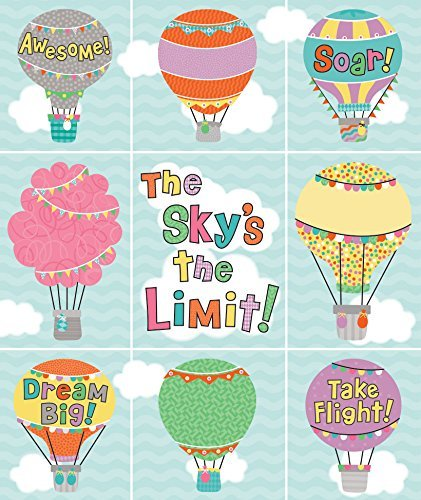CD 168240 UP AND AWAY PRIZE PK STICKERS