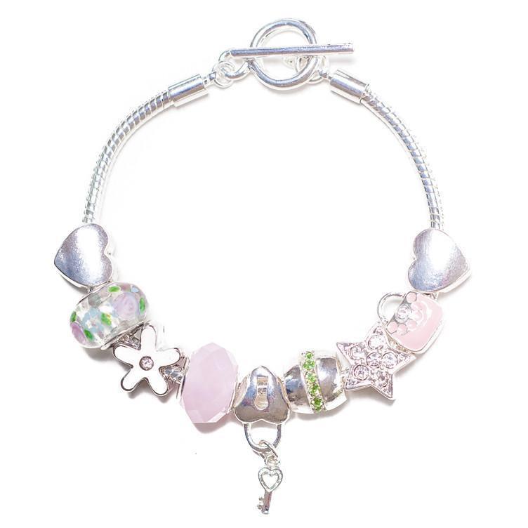 Lauren Hinkley Pink Teen Charm Bracelet