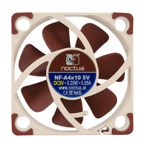 Noctua NF-A4x10 5V Quiet Cooling Fan 40mm for Prusa MK3 Extruder