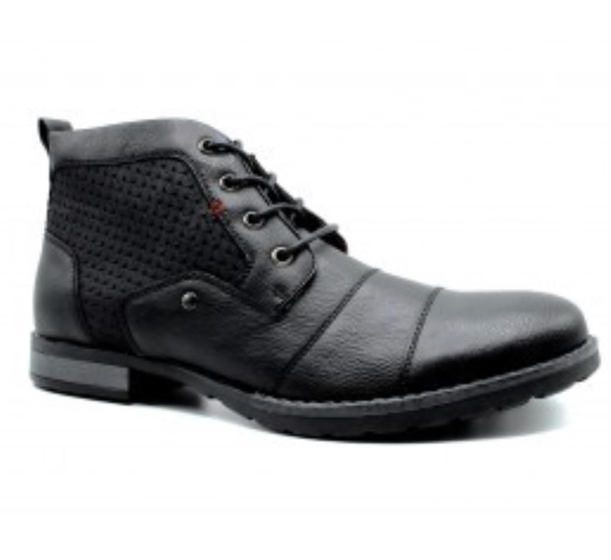 604eab3574f7 Menswear Men s Shoes - Black Ankle Boots - Stevie Coleman Clothing