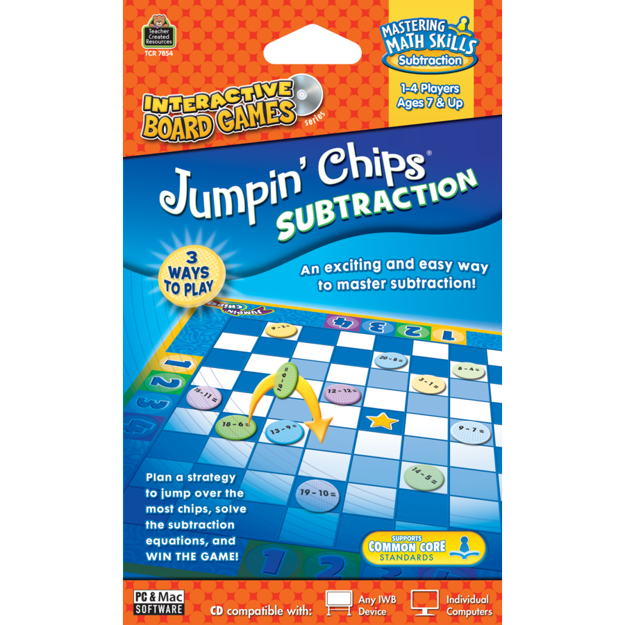 X TCR JUMPIN CHIPS SUBTRACTION