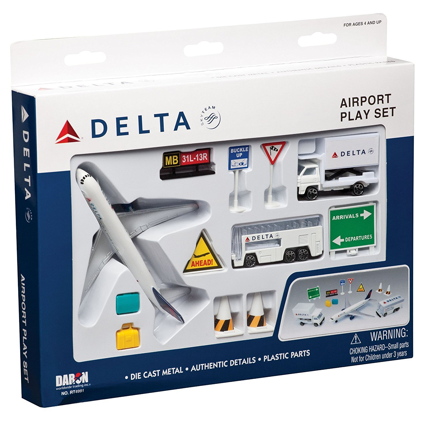 DELTA AIR LINES PLAYSET