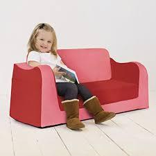 LITTLE READER SOFA RED
