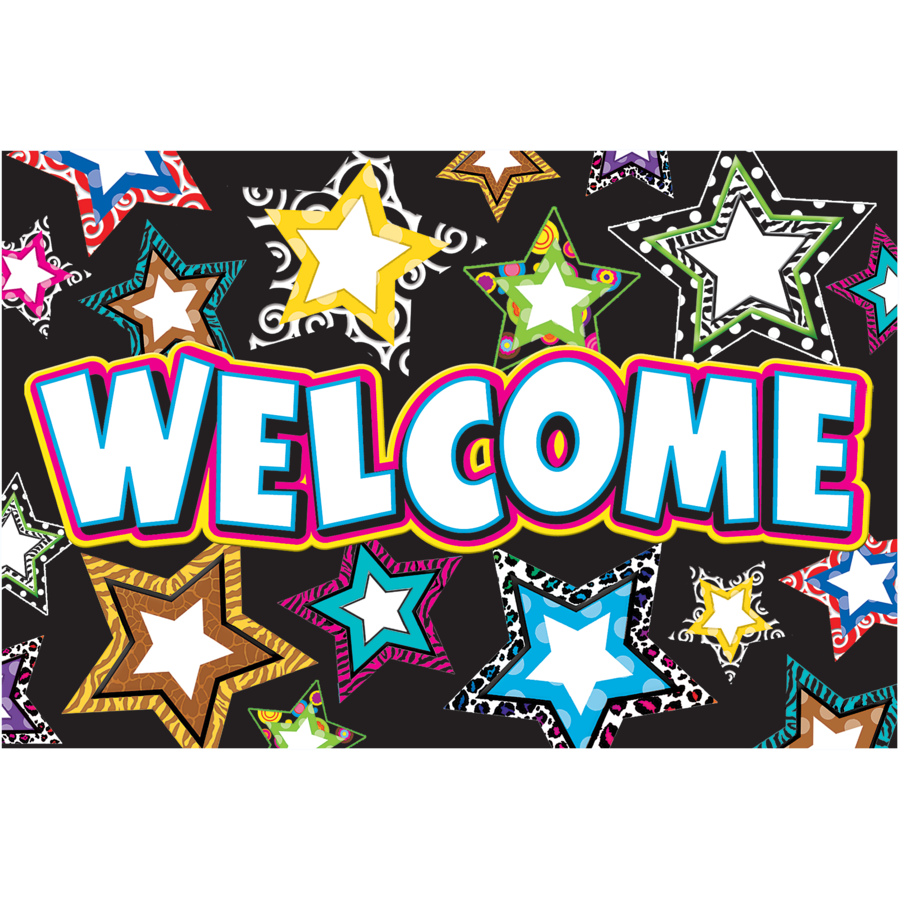 TCR 5225 STARS WELCOME POSTCARDS