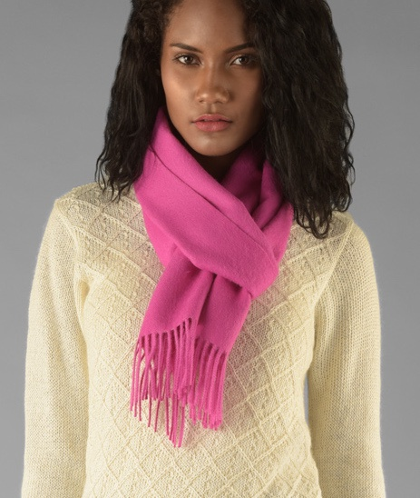 LONG BRUSHED SCARF RJ14035