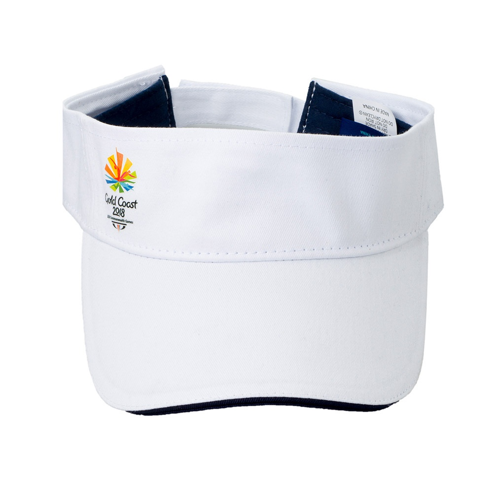 Gold Coast 2018 Adults Emblem Visor
