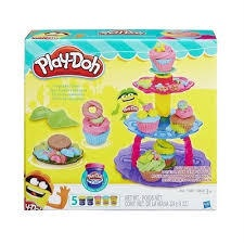 Merveilleux PLAY DOH KITCHEN CREATIONS CUPCAKE TOWER