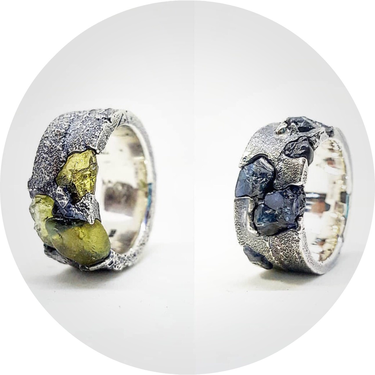UNEARTHED- Sand Casting and rough Sapphires. With  August Artist in residence Kirra-lea Caynes.