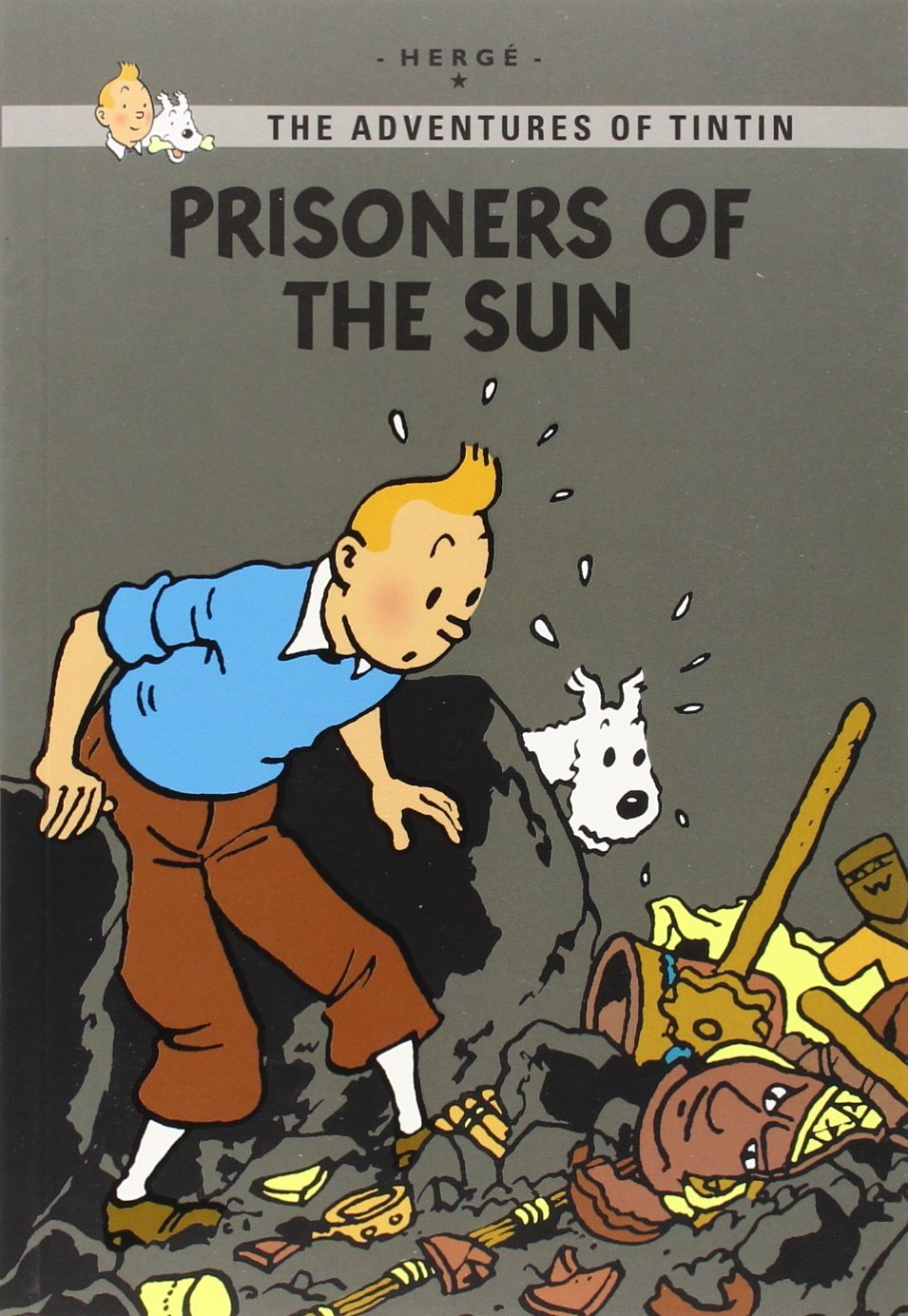 Tintin Young Readers Ed GN Prisoners of the Sun
