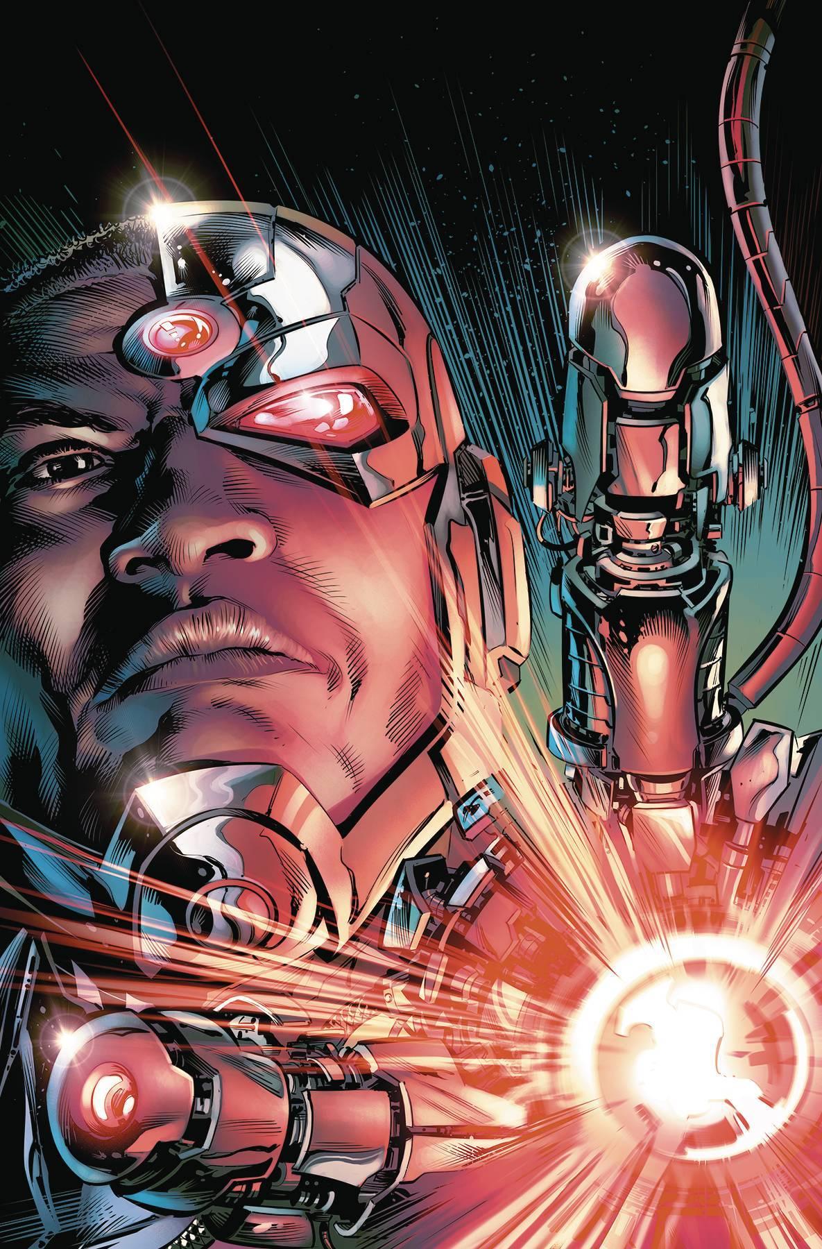 Cyborg Vol 01 The Imitation Of Life (Rebirth)