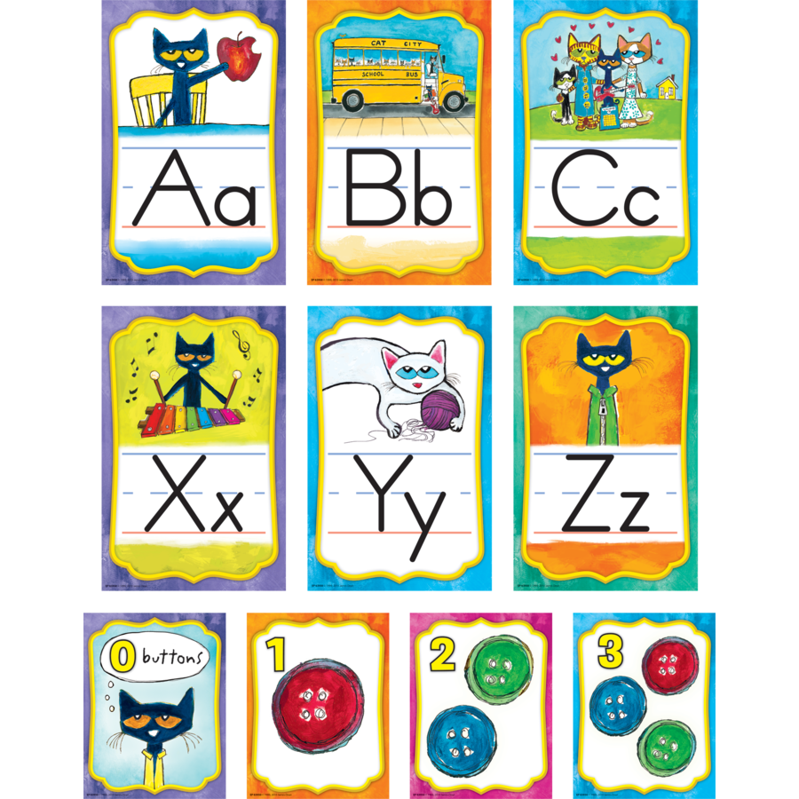 TCR 63950 PETE THE CAT ALPHABET BBS