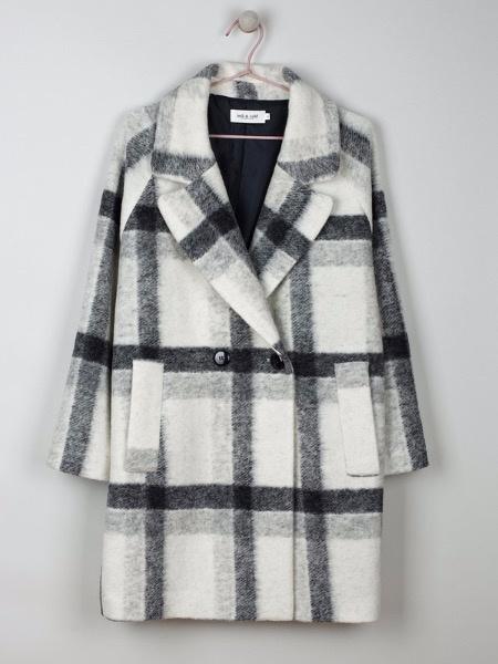 Indi & Cold Jacket Abrigo Crudo