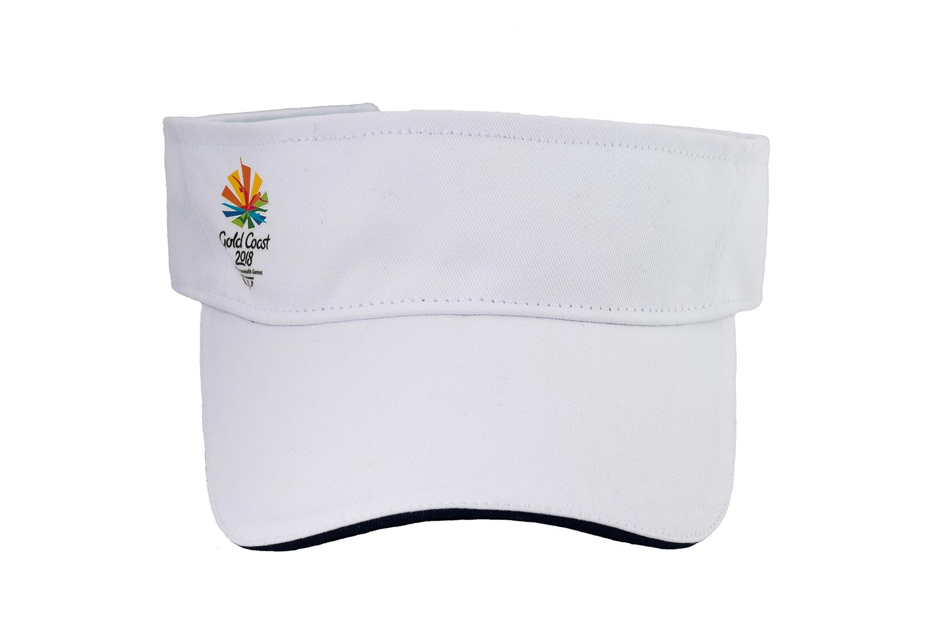 Gold Coast 2018 Adults Emblem Visor