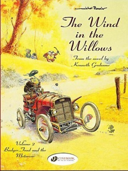 Wind in the Willows #2 Badger, Toad & the Motorcar