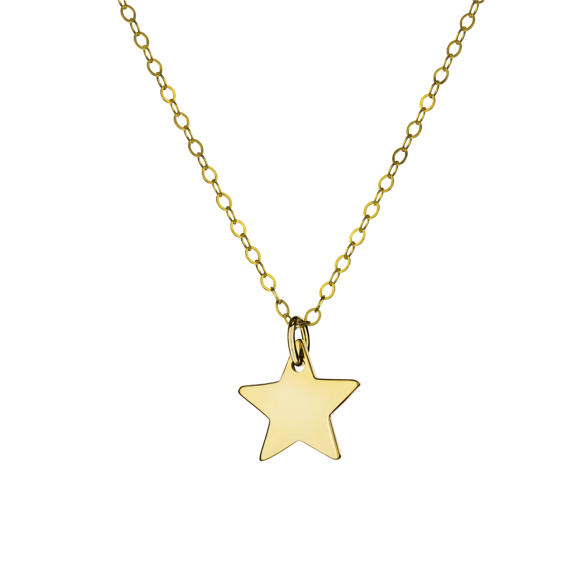 ba1378985d9e32 Tiny Gold Star Charm Necklace - # Collaborate Store