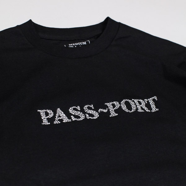 Pass~Port Official Sweaty Tshirt Black