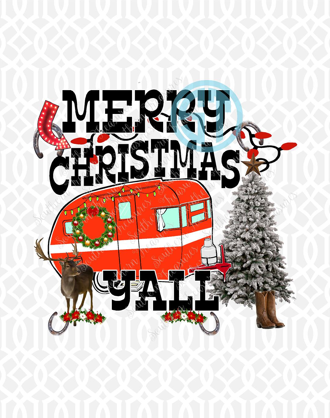 Merry Christmas Yall.Merry Christmas Y All Camper