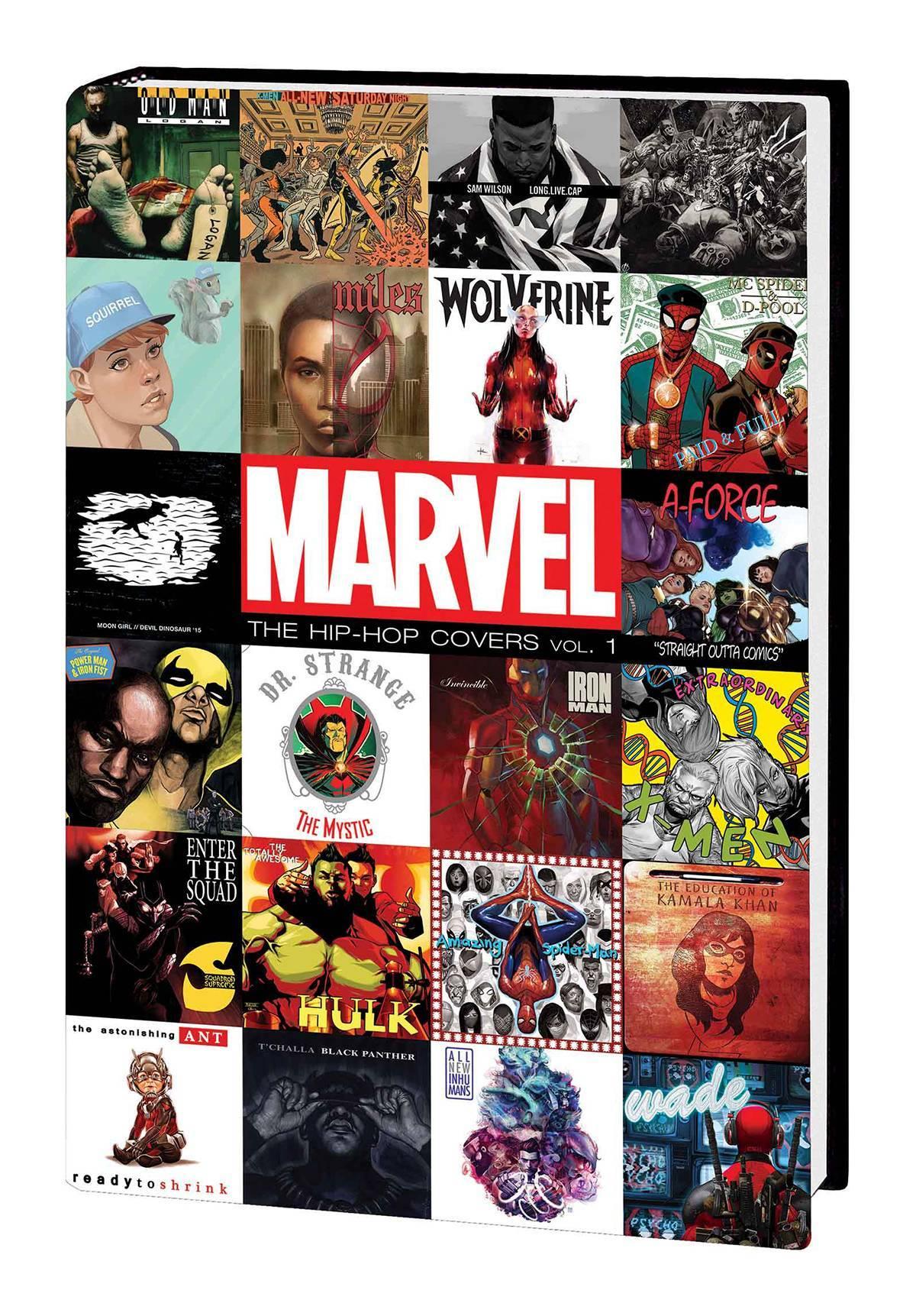 Marvel Hip Hop Covers HC Vol 01
