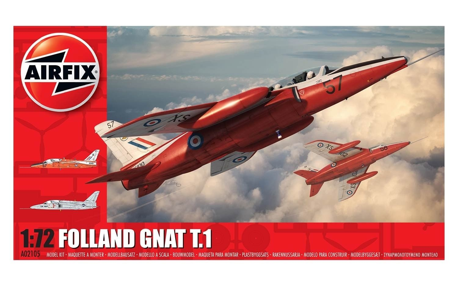 AIRFIX HUNTING PERCIVAL JET 1:72