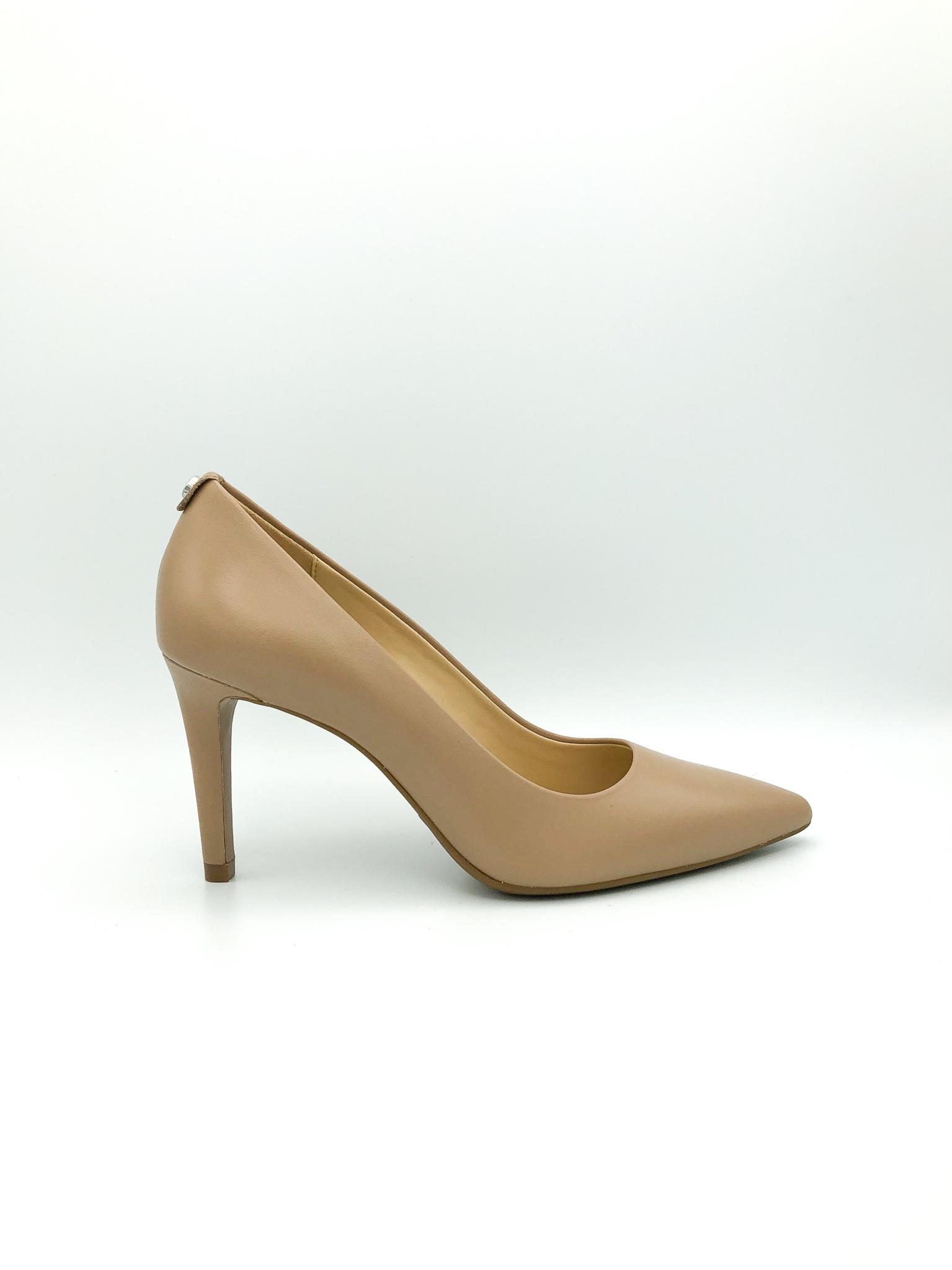 ea8fa666c714 MICHAEL KORS - DOROTHY FLEX PUMP IN DARK KHAKI - the Urban Shoe Myth