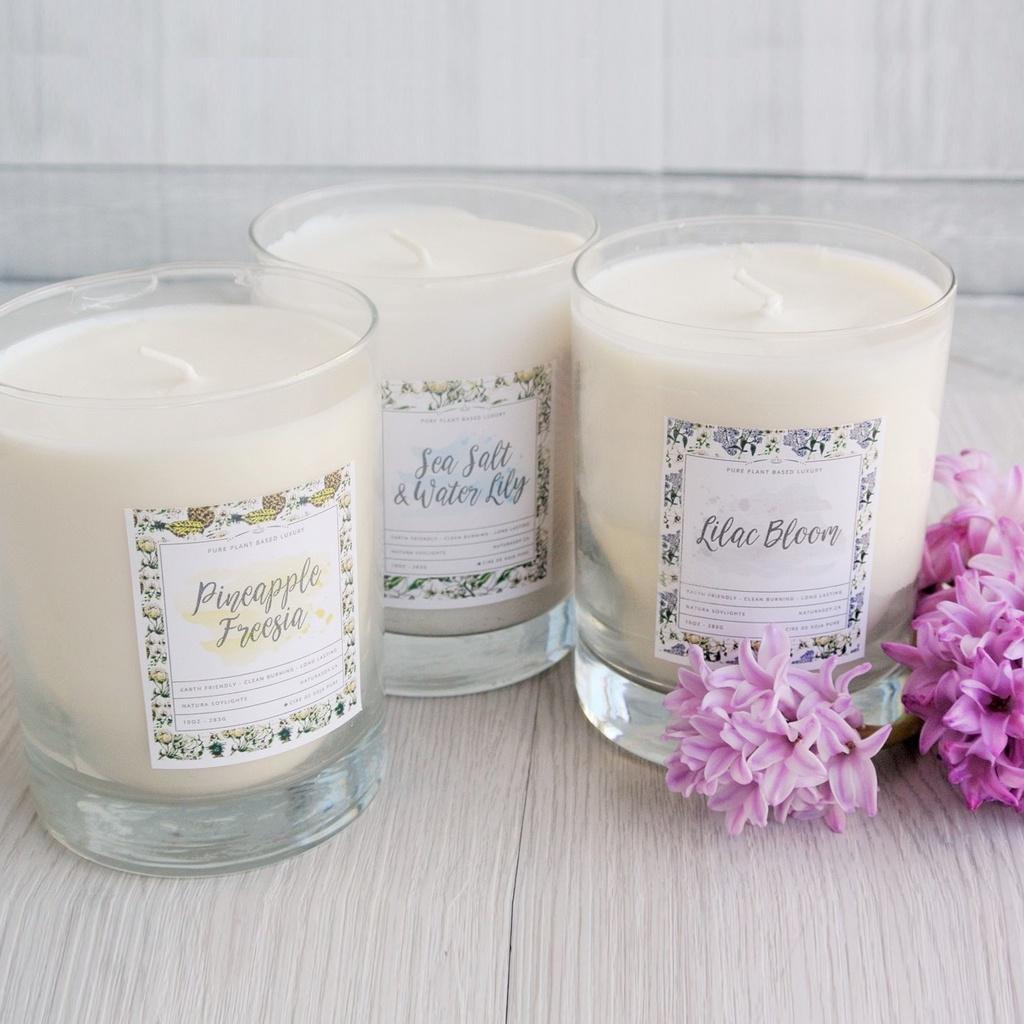 Spring Tumbler Jar Candles