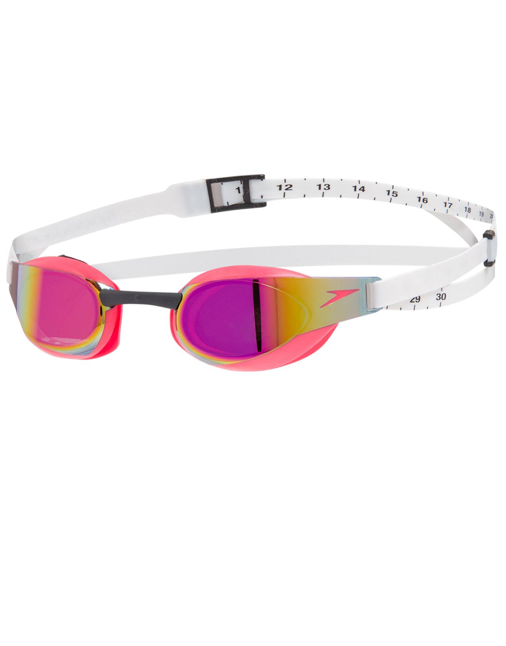 Fastskin Elite Mirror Goggles White/Psycho Red/Red